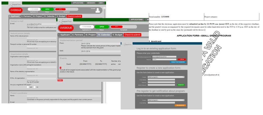 web aplikácie IVF4